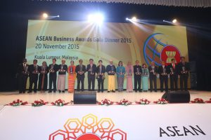 ASEAN Business Awards (ABA) Recipients 2015